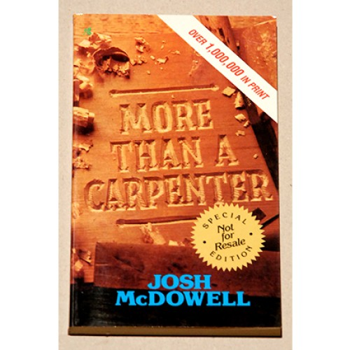 Josh McDowell - More Than a Carpenter
