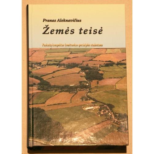 Pranas Aleknavičius -Žemės teisė