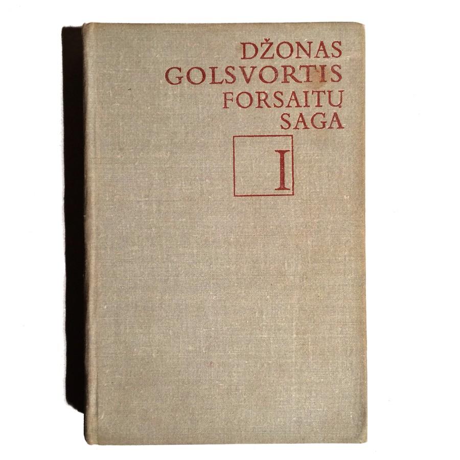 Džonas Golsvortis - Forsaitų saga I tomas