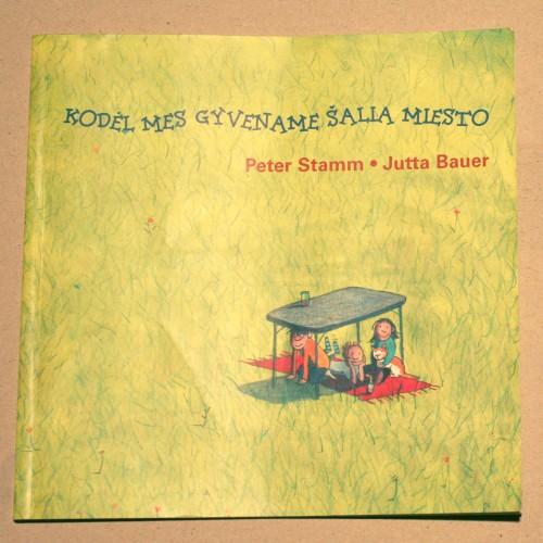 Peter Stamm, Jutta Bauer - Kodėl mes gyvename šalia miesto