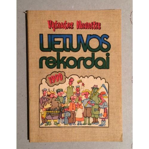 Vytautas Navaitis - Lietuvos rekordai 1990